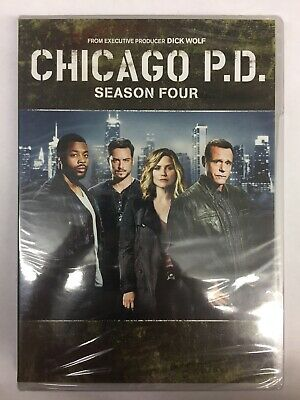 Chicago P.D, Season Four,(DVD)**New, Free Shipping **