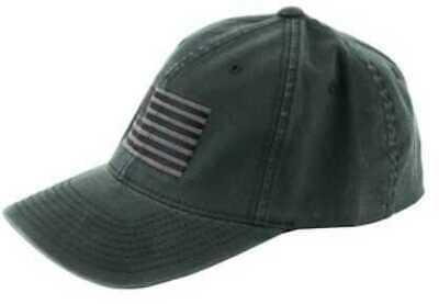 4102c3511fe6d Pipe Hitters Union American Flag Hat Black Gray Large XL PC506BGRYLX