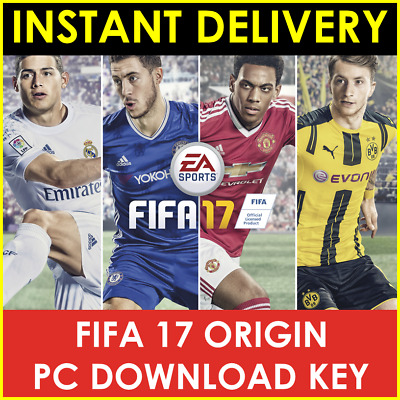 INSTANT Email Delivery - FIFA 17 Origin EA Key Global PC Download WORLDWIDE
