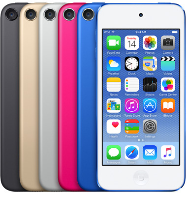 🔥Apple iPod Touch 6th Gen. Blue/Black/Pink/Gold/Silver/Red - 16/32/64/128GB