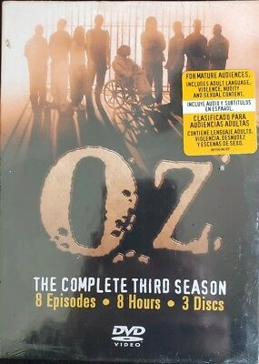 Oz - The Complete Third Season (DVD, 2004, 3-Disc Set) Brand New Factory Sealed