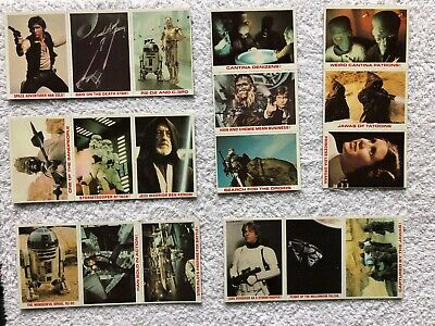 Star Wars Original Trilogy Special Edition Burger King Trading Cards - VERY RARE