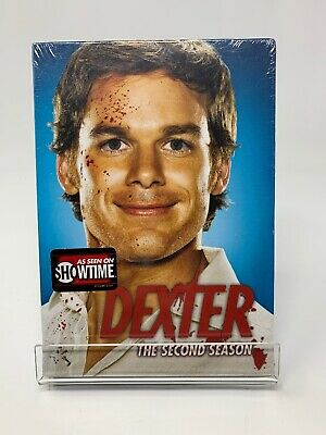 New Dexter - The Complete Second Season (DVD, 2008, 4-Disc Set)