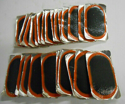 (30) 1-5/8'' x 3'' Oblong Style Vulcanizing Tire Patch Repair Radial USA