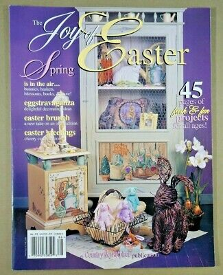 Joy of Easter 1998 Country Marketplace craft magazine country prim folk patterns