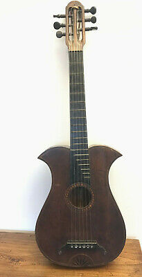 Antike Wappengitarre...antique Crest Guitar...gitarre...1800