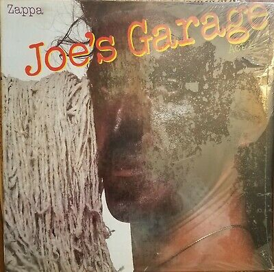 Joe's Garage, Frank Zappa, Zappa, 1979, New, Sealed, LP, Vinyl