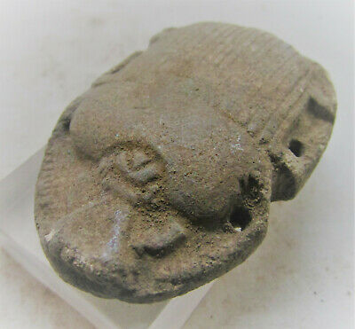 Beautiful Ancient Egyptian Stone Scarab Seal