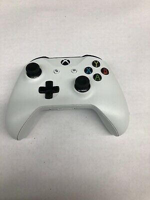Microsoft Xbox One Wireless Controller - (Model 1708) - White *HEAVILY DAMAGED*