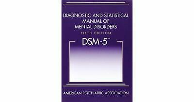DSM-5: Diagnostic and Statistical Manual of Mental Disorders: Read Description!