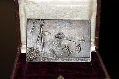 TARGA VINCENZO FLORIO 1906 COMPETITOR´S PLAQUE by LALIQUE