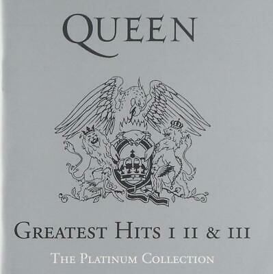 Queen Audio CD The Platinum Collection Greatest Hits I II III