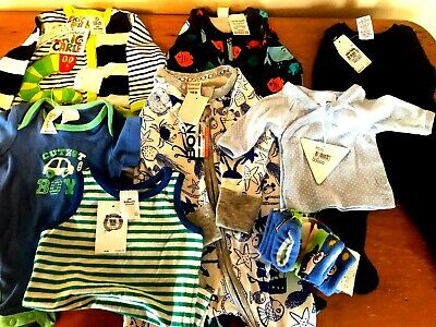 Brand New Baby Boy Clothes Bundle, Sizes Starting At 00000, 0000,000 & 00