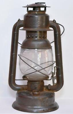 VINTAGE MEVA 864 Paraffin Oil Lamp Czech Republic Railroad