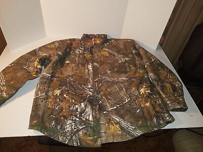 684af566 Carhartt Wexford Camo Shirt Jacket Realtree Xtra Men size large new with  tags