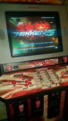 NAMCO TEKKEN 3 Arcade Game Kit Installation and Operation