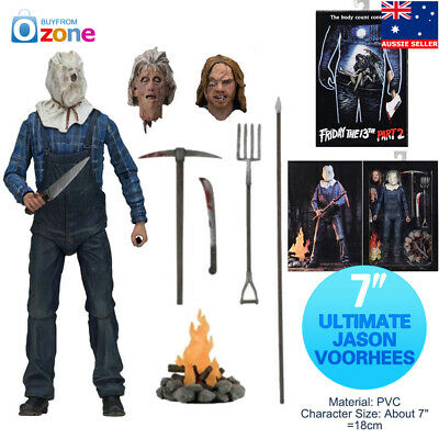 7″ NECA Friday The 13th Part 2 Ultimate Jason Voorhees Action Figure Model Toy