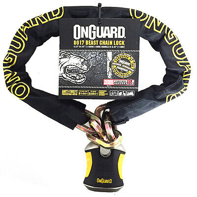 Onguard Beast 8017 Motorcycle Scooter Bike Chain Lock