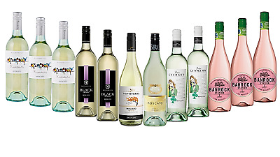 AU Best Seller Moscato Mixed White Wine Pack 12 x 750mL - FAST & FREE SHIPPING