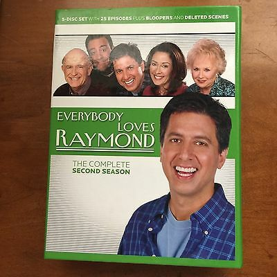 Everybody Loves Raymond - The Complete Second Season (DVD, Canadian)