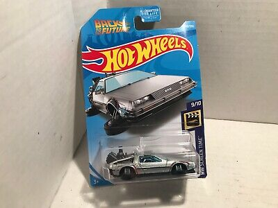 Hot Wheels 2019 DeLorean Back To The Future Time Machine Hover Mode NEW ON CARD