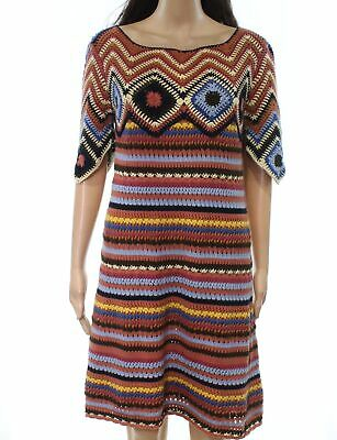 2b039727e91 See by Chloe NEW Pink Blue Womens Size Large L Knitted Sheath Dress  525-  706