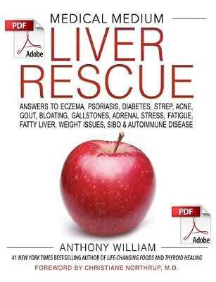 Medical Medium Liver Rescue By Anthony William **eBook/PDF Instant Delivery**