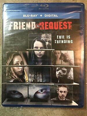 Friend Request (Blu-ray & DVD) New & Sealed Lions Gate Horror