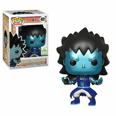 Preorder Funko Pop Fairy Tail Gajeel Dragon Force Scale ECCC 2019 Shared Sticker