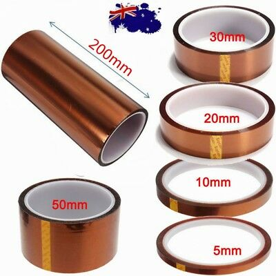 33m Kapton Tape High Temperature Heat Resistant Polyimide BGA 3D Printer Repair