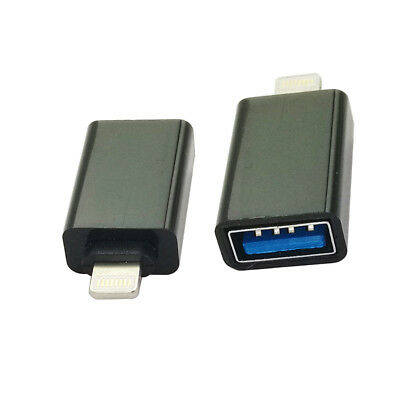 for iPhone to Camera Keyboard OTG Adapter Lightning 8 Pin to USB 3.1 Converter