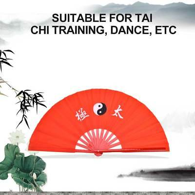 HIGH QUALITY BAMBOO Tai chi Fan Martial arts Kung fu Wushu