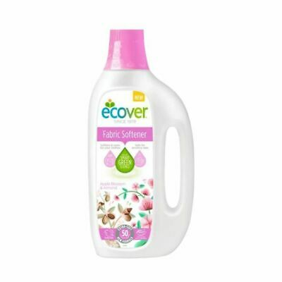 Ecover Fabric Softener - Apple Blossom & Almond [1.5Ltr] (7 Pack)