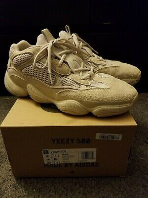 cdca9f1503c74 Adidas Yeezy 500 Blush Size 10.5 Mens 100% authentic