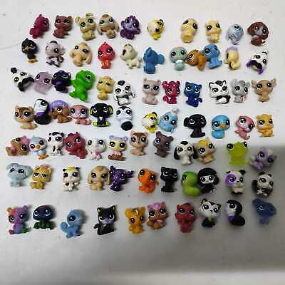 Random 10pcs Original Hasbro Littlest Pet Baby Shop Mini Figure Super Tiny Toys