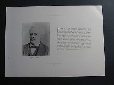 Henry M Putney Collector Of Internal Revenue New Hampshire  Railroad Commission