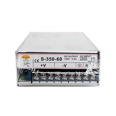 1PC CNC Router Single Output Power Supply 350W 60V S-350-60 LONGS