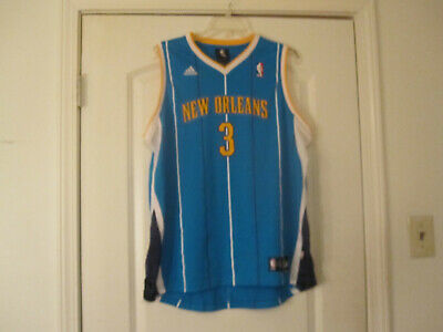 6a5b02ab Adidas NEW ORLEANS HORNETS Chris Paul #3 Basketball Jersey Youth L 14-16