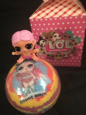 Lol Surprise Doll(Themed)/Lil Sis /Bath Bomb Gift Set/key Charm/ Bath Time Fun