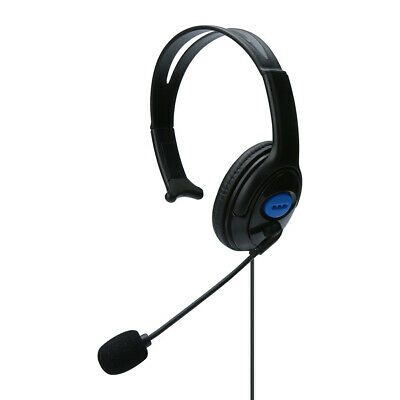 Wired Unilateral Gaming Headset Earphone with Microphone for PS4 PC Laptop Phone