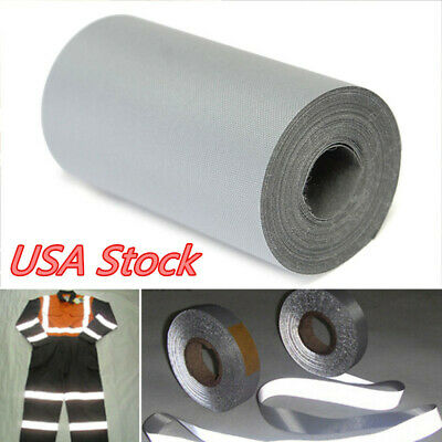 3m Reflective Safety Warning Conspicuity Roll Tape Film Sticker For Car Truck US