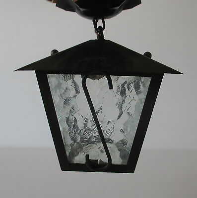 Lampe suspension lustre lanterne vintage design 50 60
