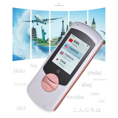 "Smart Translator Device 2.0"" HD Touchscreen Real-time 41 Languages 4G+32G P6G7"