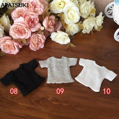 """1pc 1/6 Doll's T-Shirt for Blythe Dolls Causal Clothes For 11.5"""" Doll Shirts Top"""