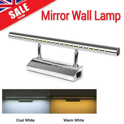 Modern LED Mirror Wall Light Picture Front Wall Makeup Lighting Bathroom Lamp UK