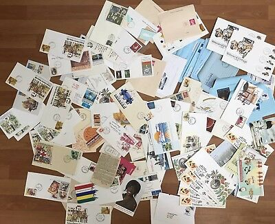 BULK COLLECTION STAMPS COVERS POST CARDS AEROGRAMMES Lot 2