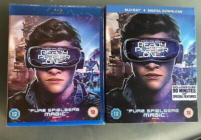 Ready Player One Blu-ray and Digital Download - NEW AND SEALED