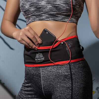 Sport Waist Belt Pouch Fanny Pack w/ Water Bottle for Camping Running Hiking