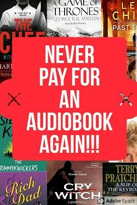 Download ANY popular audiobook for FREE. Game of Thrones Lee Child Harry Potter