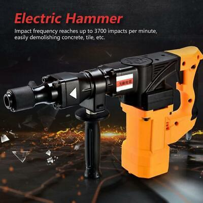 220V 1600W Hex Electric Rotary Demolition Hammer Breaker Concrete Punch Tool cp